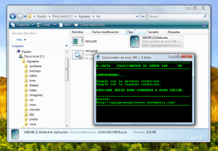 Solucionador de error 340 v. 0.1beta